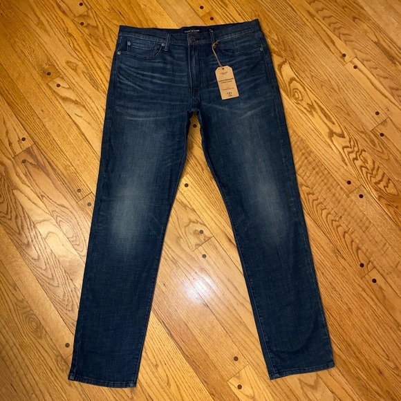 NWT LUCKY BRAND 121 SLIM FIT JEANS 36X34